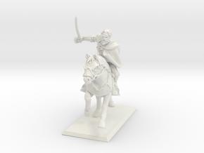 Cavalier in White Natural Versatile Plastic