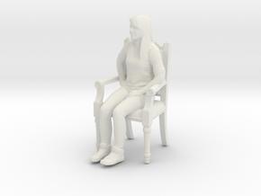 Printle C Femme 425 - 1/18 - wob in White Natural Versatile Plastic