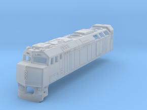 F40  ViaRail (No Metal parts) in Smooth Fine Detail Plastic