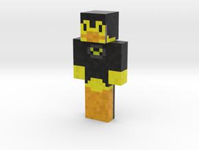 DuckKnightOfMc | Minecraft toy in Natural Full Color Sandstone