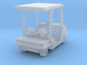 1-94 Scale Golf Cart in Smooth Fine Detail Plastic