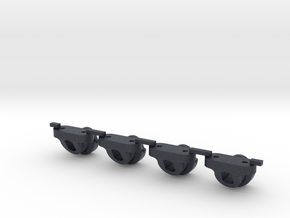 Axial Style Body Mount for LCG Chassis like JaBird in Black PA12