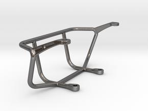 Tamiya Sand Scorcher 'Box Art' Steel Front Bumper in Polished Nickel Steel