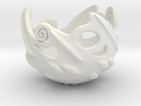 Wisp Cap in White Natural Versatile Plastic