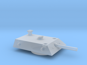 Lion 2 Heavy MSL Grav Tank Turret 15mm in Smoothest Fine Detail Plastic