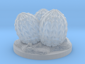Large Dragon egg marker 28mm miniature in Smooth Fine Detail Plastic