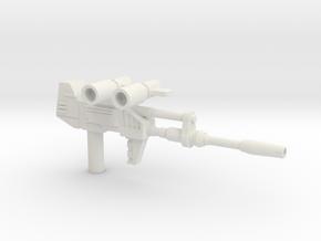 CW Bluestreak/Prowl Weapons in White Natural Versatile Plastic