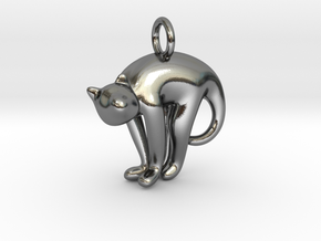 cat_017 in Polished Silver