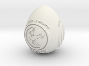 GOT House Arryn Easter Egg in White Natural Versatile Plastic