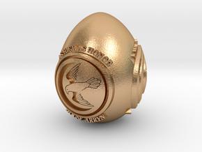 GOT House Arryn Easter Egg in Natural Bronze