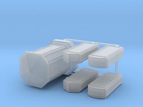 Linien- und Endverzweiger 5erSet - 1:87 H0 in Smooth Fine Detail Plastic