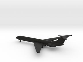 Ilyushin Il-62 Classic in Black Natural Versatile Plastic: 1:700