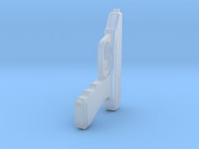 1:3 Miniature Heckler & Koch VP70 Pistol in Smooth Fine Detail Plastic