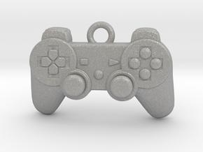 PlayStation Controller Pendant all materials gamer in Aluminum