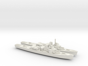 USCGC Taney x2 1/1250 in White Natural Versatile Plastic