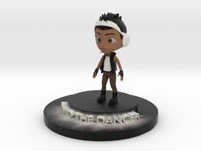 David The Dancer in Natural Full Color Sandstone