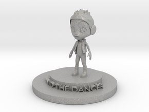 David The Dancer in Aluminum