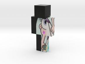 Moon_ID_3 | Minecraft toy in Natural Full Color Sandstone