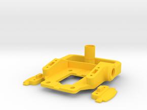 Riser-Unity-Fullset in Yellow Processed Versatile Plastic