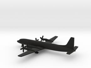 Ilyushin Il-18B Coot in Black Natural Versatile Plastic: 1:500
