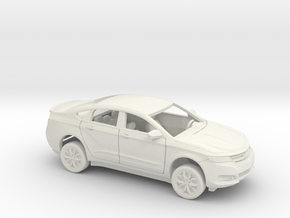 1/25 2013-17 Chevrolet Impala Sedan Custom Kit in White Natural Versatile Plastic