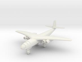 (1:144) Arado E 395 Crescent Wing (Gear down)  in White Natural Versatile Plastic