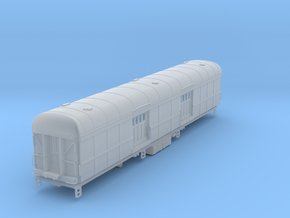 N-scale (1/160) N&W BeK Baggage Car with roof vent in Smooth Fine Detail Plastic