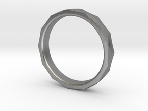 Engineers Ring size US 6.25 in Natural Silver