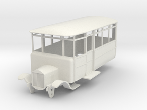 o-50-dv-5-3-ford-railcar in White Natural Versatile Plastic