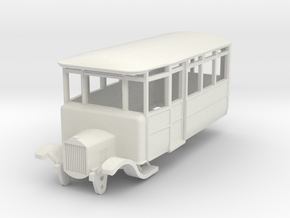 o-76-dv-5-3-ford-railcar in White Natural Versatile Plastic