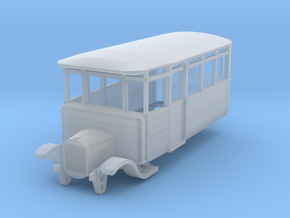 o-100-dv-5-3-ford-railcar in Smooth Fine Detail Plastic