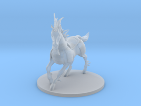 Armored Unicorn Mount in Smooth Fine Detail Plastic