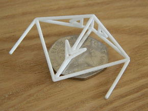 Krait Wireframe 1-600 in White Natural Versatile Plastic