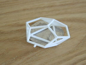 Asp Mk II Wireframe 1-600 in White Natural Versatile Plastic