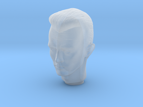 1/10 Terminator T1000 Head  in Smooth Fine Detail Plastic