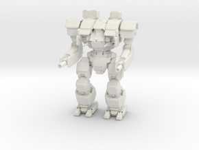 SLDF Warhammer Mechanized Walker System in White Natural Versatile Plastic