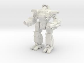 Boa Fitting - Mechanized Walker System  in White Natural Versatile Plastic