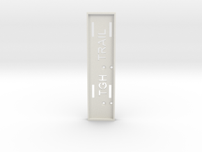 TGH TRAIL BATTERY BOX in White Natural Versatile Plastic