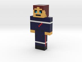 pompier   Minecraft toy in Natural Full Color Sandstone