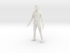 1/18 Terminator T1000 in White Natural Versatile Plastic