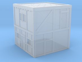 Glacier House without stairs (R) in Smooth Fine Detail Plastic: 1:300