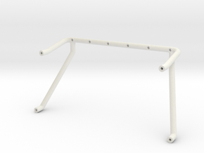 F-150 Roll Bar by Carisma Scale Adventure in White Natural Versatile Plastic: 1:10