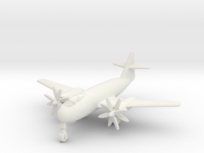 (1:200) Messerschmitt Me P.1100/I Turboprop in White Natural Versatile Plastic