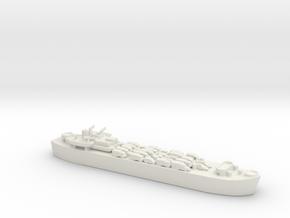 Landing Ship tank MK 3 LST 1/800 1 in White Natural Versatile Plastic