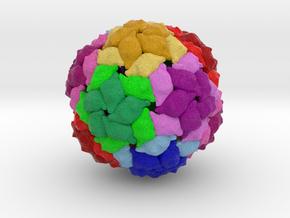 Pseudomonas Phage PP7 in Natural Full Color Sandstone