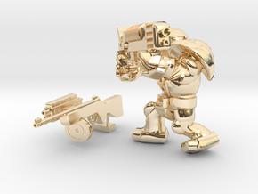 SPACEMARINER PLASMAGUN SHOTGUN Ppsh41 SET  in 14k Gold Plated Brass