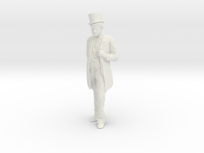 Printle F Harpo Marx - 1/24 - wob in White Natural Versatile Plastic