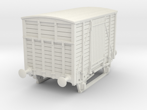 a-76-dwwr-ashbury-13-6-covered-wagon in White Natural Versatile Plastic