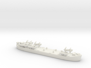 landing ship tank Mk 2 1/1800 2 in White Natural Versatile Plastic