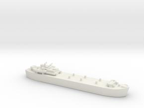 landing ship tank Mk 3 1/1800  in White Natural Versatile Plastic